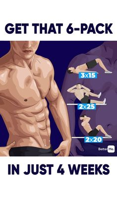fitness exercises at home A workout for you to get perfect ABS! Exercises were created to reduce the size of the belly quick and easy! Do it and enjoy the results! Gym Workout Chart, Gym Workout Videos, Gym Workout For Beginners, Workout Abs, Abs Exercise Men, 6 Pack Workout, Training Fitness, Weight Training Workouts, Fitness Workouts