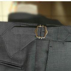 Details… (Sartoria Napoletana Istanbul) Mens Dress Pants, Men Pants, Hats For Men, Women Hats, Steampunk Men, Designer Suits For Men, Bespoke Tailoring, Black Blazers, Mens Suits