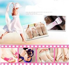 DHL Rechargeable Foot Care Tool Skin Feet Dead Removal Heel Exfoliator Cuticles Pedicure Set+Refill Heads Online with $50.26on Tianliangliu's Store | DHgate.com#dhgatepin