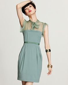 Such a cute Vintage dress $795.00 + S (not such a cute price)