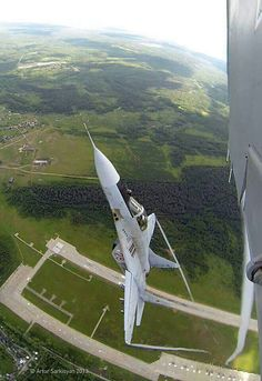 Mig -29 Fulcrum and that's the part where I would puke