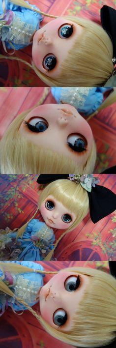 M&N, M&N custom blythe, alice, alice in wonderland, custom blythe, blythe, blythe dolls, custom blythe dolls, rinkya, japan