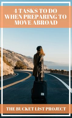 There's no doubt that moving to another country is an exciting experience. But it can also be a bit overwhelming if you aren't prepared. So here are 4 tasks that can help you move abroad! #MoveAbroad #TravelPlanning #Bucketlist #LiveAbroad Bucket List Ideas For Women, Task To Do, Adventure Bucket List, Learn A New Language, Adventure Activities, Large Homes, Solo Travel, Weekend Getaways, Trip Planning
