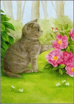 Calendar cat | Flickr - Photo Sharing!  Sue Tarr