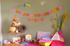 sweet and simple Waldorf birthday celebrations