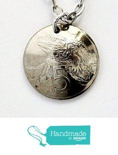 Domed Coin Necklace New Zealand Lizard 1999 https://www.amazon.com/dp/B01HTVRFJG/ref=hnd_sw_r_pi_dp_.lPDxb83CE3JA #handmadeatamazon