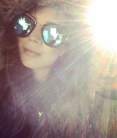 The days may be short but the sun is bright { Mirrored Sunglasses, Sunglasses Women, Canada, Bright, Day, Winter, Instagram, Winter Time, Winter Fashion