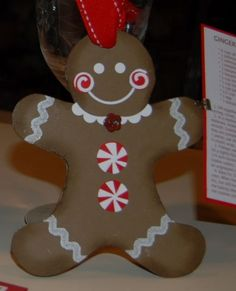 Cute Gingerbread Ornament ;)