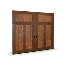 Sound-minimizing garage doors have internal foam insulation and interior panels. Photo: ISO