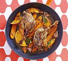 Tender roast duck with citrus  #clemengold #gathering #lecreuset