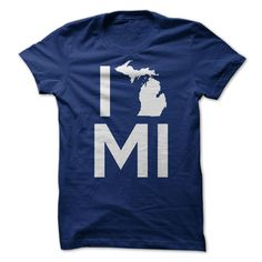 I Love Michigan - T-Shirt, Hoodie, Sweatshirt