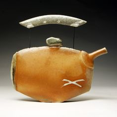 Platta tekannor ( thin teapots) | Steven Jones – Pottery