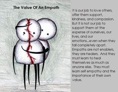 Empaths can allow people to deplete them when they fail to set limits. It's important to create boundaries and understand when someone wants to avoid their own inner work and instead tries to take the energy of others Empath Traits, Intuitive Empath, Psychic Empath, Highly Sensitive Person, Sensitive People, Empath Abilities, Infj Personality, Thing 1, Book Of Shadows