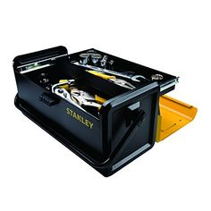 Stanley STST19501 Auto Slide Drawer Metal Tool Box, 19-Inch - http://www.caraccessoriesonlinemarket.com/stanley-stst19501-auto-slide-drawer-metal-tool-box-19-inch/  #19Inch, #AUTO, #Drawer, #Metal, #Slide, #Stanley, #STST19501, #Tool #Hand-Tools, #Tools-Equipment