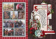 december daily, document christmas, digital scrapbooking, mistyhilltops, mini album