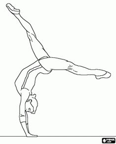 Free Printable Gymnastics Coloring Pages For Kids Coloring Pages