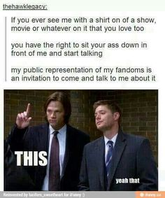 And more proof that Supernatural has a gif for everythibf