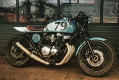 Honda CB900F Bol d'Or Café