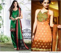 Sweet Heart Salwar Suit Neck Designs