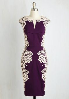 Lakeside Libations Dress in Grape From the Plus Size Fashion Community at www.VintageandCurvy.com