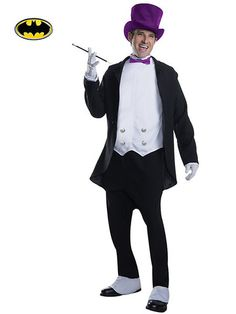 Adult 1960's Penguin Costume from #RickysHalloween http://www.rickyshalloween.com/collections/mens-costumes
