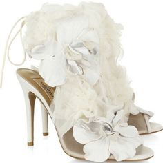 Some frilly white pretties!