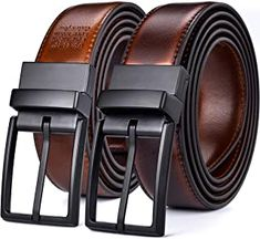 Beltox Fine Men's Dress Leather Reversible Wide Rotated Buckle Gift With Leather Bifold Wallet, Leather Belts, Men's Belts, Mens Belts Fashion, Leather Dresses, Change Purse, Fine Men, Belted Dress, Black And Brown