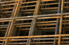 "4"" rebar mesh for trellis fencing"