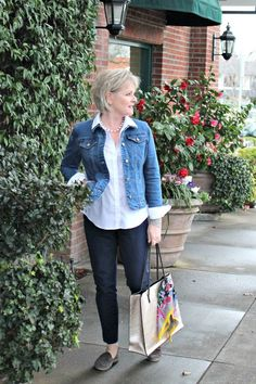 Look of the Week: The Perfect Denim Jacket