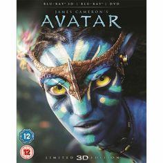 James Cameron's Avatar 3D & 2D (With DVD) (Blu-ray) via play.com