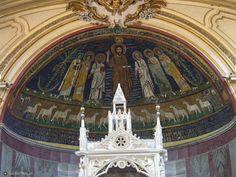 Apsis of Santa Cecilia in Trastevere