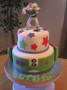 Buzz Lightyear Birthday - Cake for a big Buzz Lightyear fan!