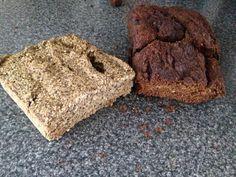 Seed bread and banana seed bread