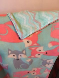 A personal favorite from my Etsy shop https://www.etsy.com/listing/575811015/foxes-woodsy-fleece-and-flannel-baby