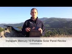 Instapark Mercury 10 Portable Solar Panel Review Good reviews for charging phones and tablet.