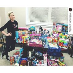 crazy busy week last week but totally worth it. blessed to do what i do forever grateful to share it with others.  #repost @withlove_charity with @repostapp.  100 toys & items were donated to @rmhcjacksonville yesterday to help bring joy to the families being housed there while their children receive treatment locally.  #giveback #worldcancerday #rmhc #vday #celebration #toydrive #childhoodcancerawareness #support #ilovejax #givehope #withlove by _tayscheibe