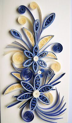 Beginners Guide on DIY Quilling Paper Art and 43 Exceptional Quilling Designs to Materialize Neli Quilling, Paper Quilling Patterns, Quilled Paper Art, Quilling Paper Craft, Diy Paper, Paper Crafts, Quilling Flowers Tutorial, Diy Crafts, Origami Tattoo