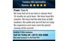 We have had all of our kids in classes from 18 months on up to team. We have loved the...