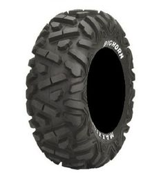 Full set of Maxxis BigHorn Radial 26×9-12 and 26×12-12 ATV Tires (4)