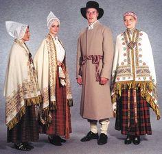Latvian folk clothes