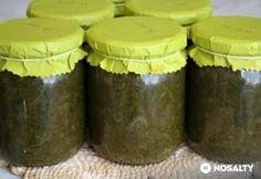 Sóskapüré télire - tartósítószer nélkül