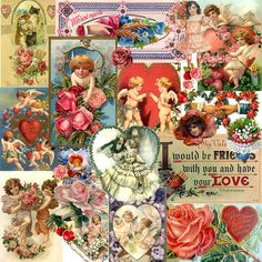 12x12 Vintage Victorian design for scrapbooking and paper crafting