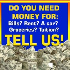 Do you need money...PCH wants to know!