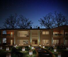 Lanterna Lighted house
