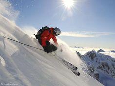 Awesome image by Josef Mallaun shot near Arlberg
