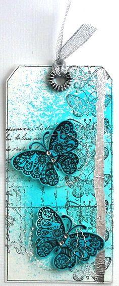Encre Izink, Papillons