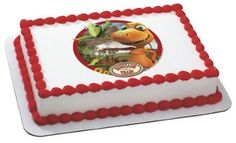 14 Sheet  Dinosaur Train Buddy  Tiny Birthday  Edible Image CakeCupcake Topper -- Visit the image link more details.(This is an Amazon affiliate link)