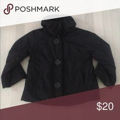 Selling this Black retro car coat on Poshmark! My username is: dsacco2. #shopmycloset #poshmark #fashion #shopping #style #forsale #Jackets & Blazers