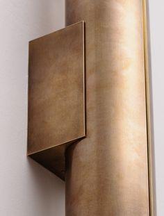 "Detail of Court II 13"" Bronze Wet Rated"
