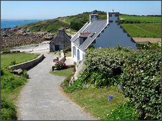 ile de batz sentier cotier, juillet 2012   Finistère Bretagne